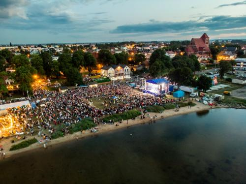 Koncert Sylwia Grzeszczak w Pucku / Fot. Konrad Kędzior